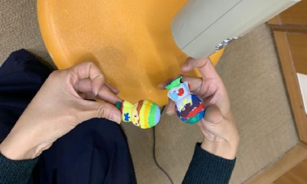 セルロイド人形染付体験教室