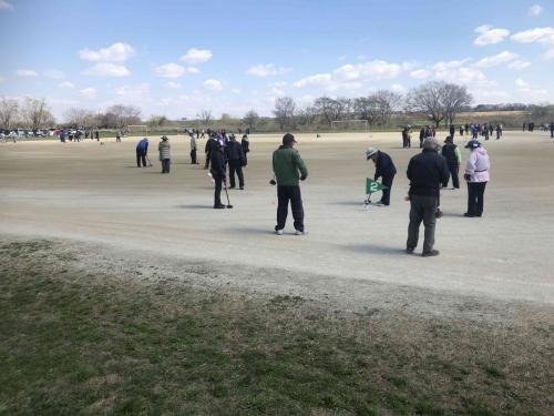 春季グラウンドゴルフ大会