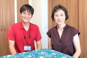 中川路匠さんと中澤泰子さん