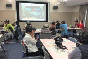認知症VR体験講座の様子