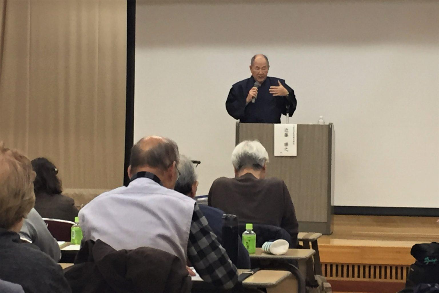 講師の近藤勝之さん