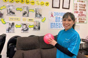 「健康スタジオあしたば」猪俣まり江さん