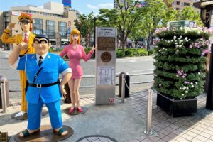 亀有駅前のフラワーメリーゴーランド1