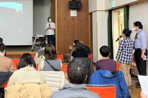 区民大学講座「大野隆司氏が語る木版画の魅力」質疑応答