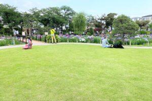 堀切菖蒲園)芝生広場